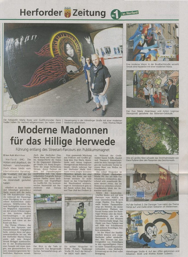 Herforder Kreisblatt 18.06.13